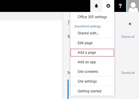 Office 365 settings