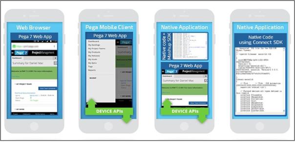 Pega Mobile Types